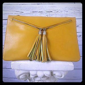 Handbags - ⚡ Butterscotch Clutch